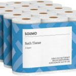Amazon Brand – Solimo 2-Ply Toilet Paper 30 Count $19.99