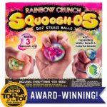 Squoosh-Os Rainbow Crunch Make 3 DIY Stress Relief Toys $2.99 (Regular $7.99)