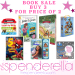Book Sale Buy 3 for the Price of 2 – Disney, Scholastic, Board Books & More!