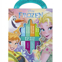 Disney Frozen My First Library Board Book Block 12 Book Set $5.00 (Regular $15.99)