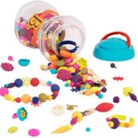 B. Toys 300 Pieces – Pop Snap Bead Jewelry Set for Kids $7.60 (Regular $14.95)