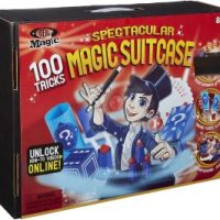 Ideal Magic Kids Spectacular Magic Suitcase with 100 Tricks $10.05 (Regular $50.99)