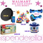 Walmart Big Save Event Live Now – Robot Vacuum $99, Instant Pot $49….