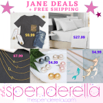 Jane Deals + FREE Shipping = Mermaid Necklace $4.99, Pearl Stud Earrings $4.99 & More!