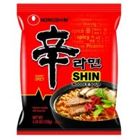 Pack of 20 Nongshim Shin Ramyun Spicy Noodle Soup $16.67 or $0.83 each - Made in USA