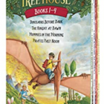 Magic Tree House Boxed Set, Books 1-4 – Lowest Price $4 = $1 each book! (Regular $22.99)