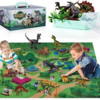 Dino World Activity Mat with Dinosaurs & Trees $19.99 after coupon