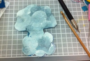 Hand-painted Cloud