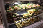 Sandwiches and deli at Helsinki Airport. Why don't other airports have such great looking food?