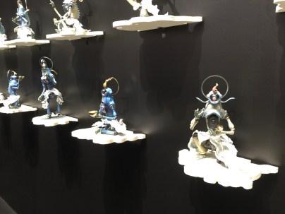 Takuma Kana-Asparas in Flight-Gallery Kouzome Bijitsu