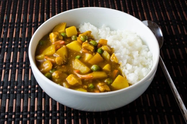 Japanese Chick Curry