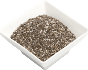 whole seeds from the chia flowering plant
