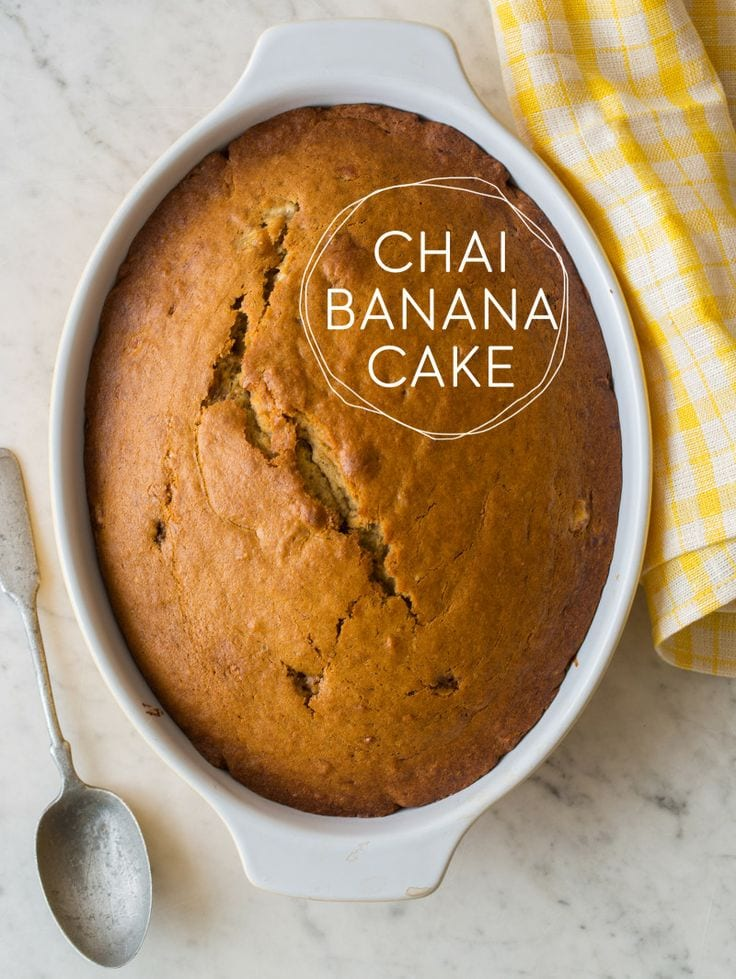 Chai Banana Cake Whole