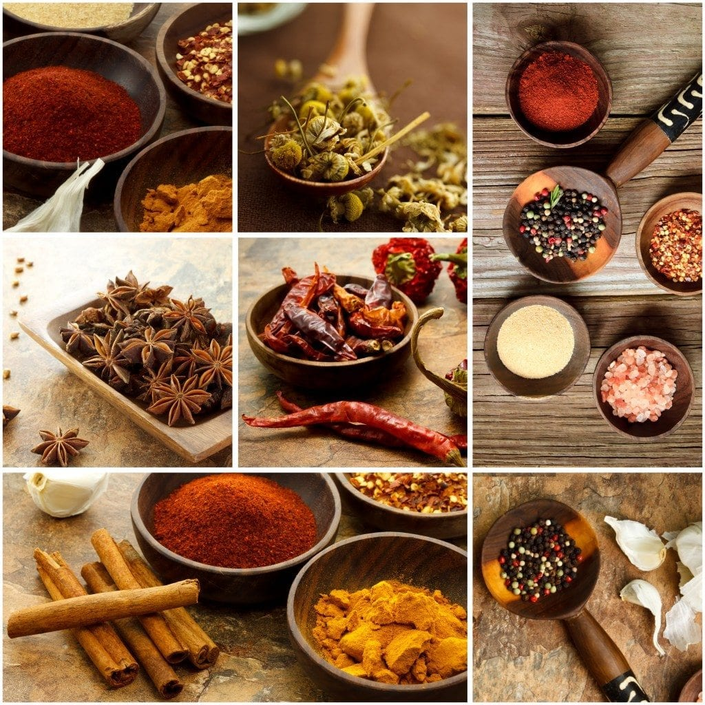 spices for authentic indian cooking