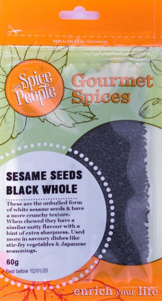 sesame seeds black whole