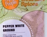 pepper white ground