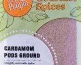 cardamom pods ground