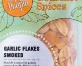 garlic flakes smoked