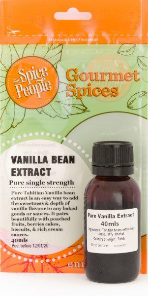 tahitian vanilla bean extract pure