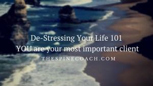 De-Stressing Your Life 101