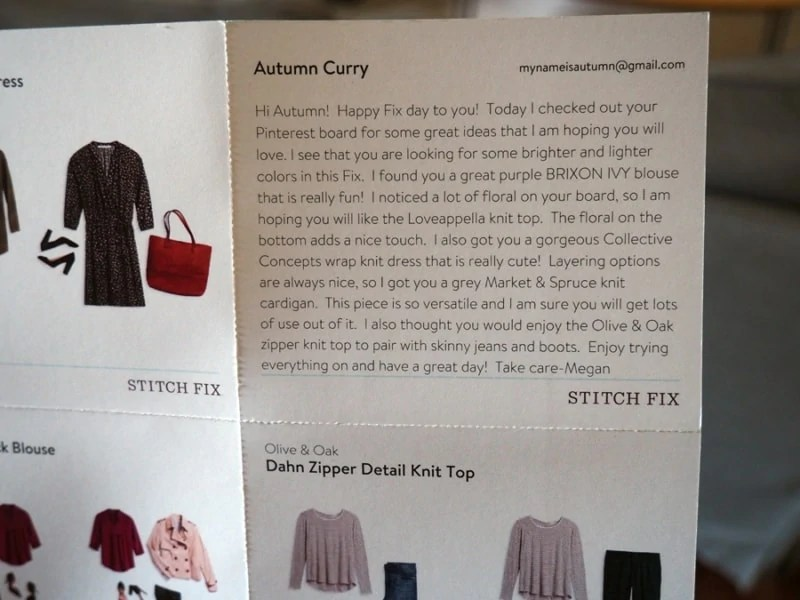 This is a review of my Stitchfix box that I received in January 2017. | via The Spirited Violet