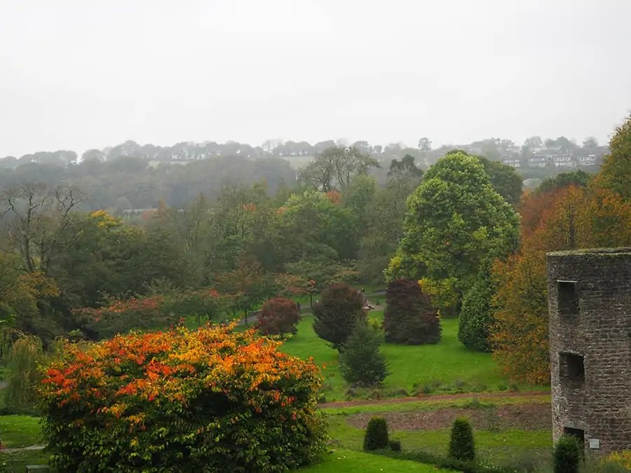 fall at Blarney Castle in Ireland   via The Spirited Violet