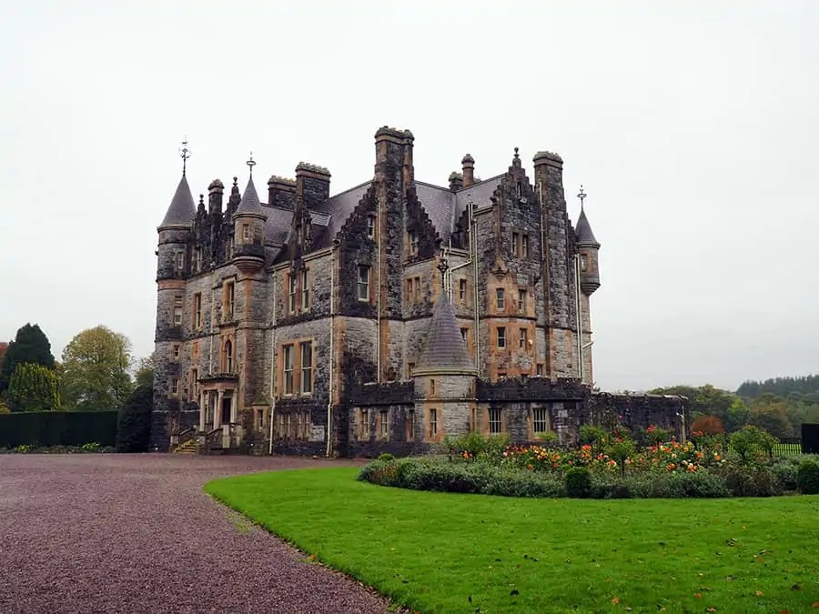the mansion on the Blarney Castle grounds   via The Spirited Violet