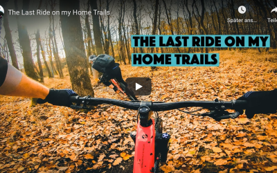 Vlog: The Last Ride on my Home Trails