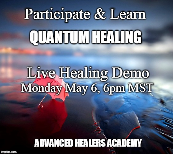 Live Quantum Healing Demonstration