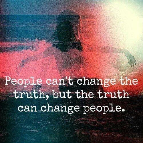 Cambiar la verdad