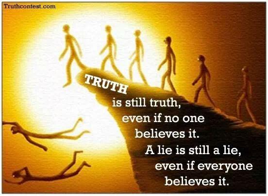 Creer en la verdad
