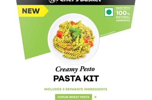 Chef's Basket Creamy Pesto Pasta Kit