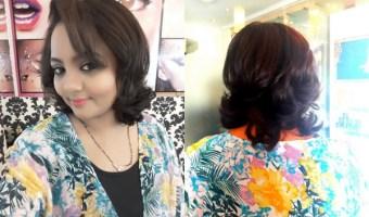 Hair Spa, Stylish Short Hair Cut and Contemporary Makeup at Personality Ikon Salon – Kanpur