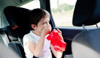 How To Tackle and Avoid Motion Sickness With Kids While Traveling in Car?