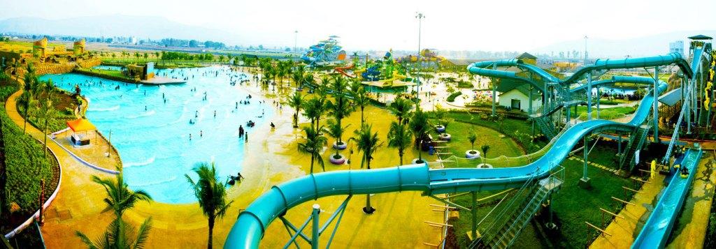 Wet n Joy India's Largest Water Park