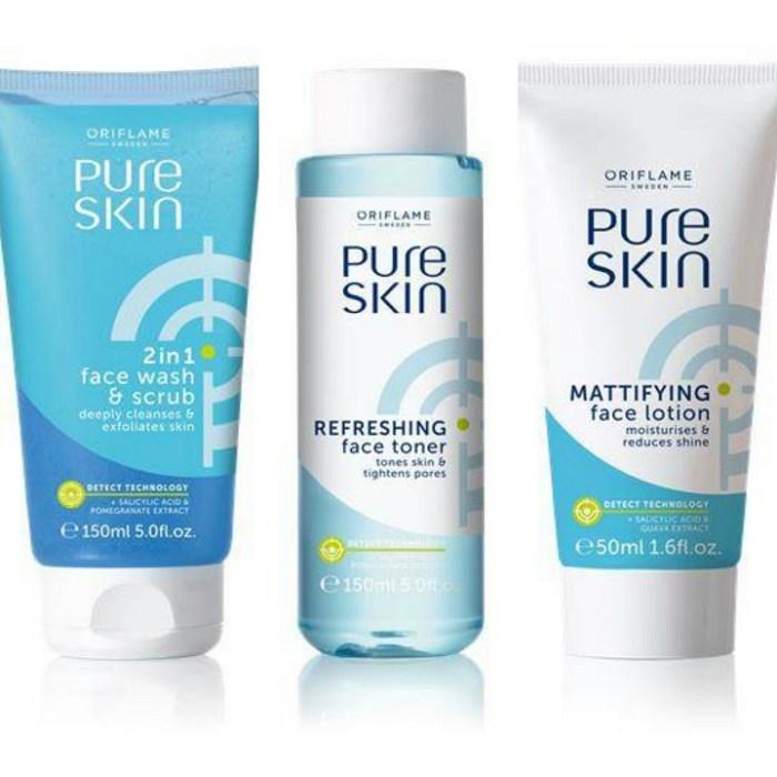 oriflame-pure-skin-face-wash-face-lotion-face-toner