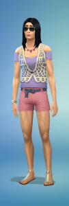 Terrible Sims hot weather outfit