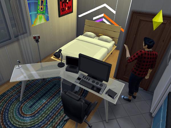 Sim video editing bay