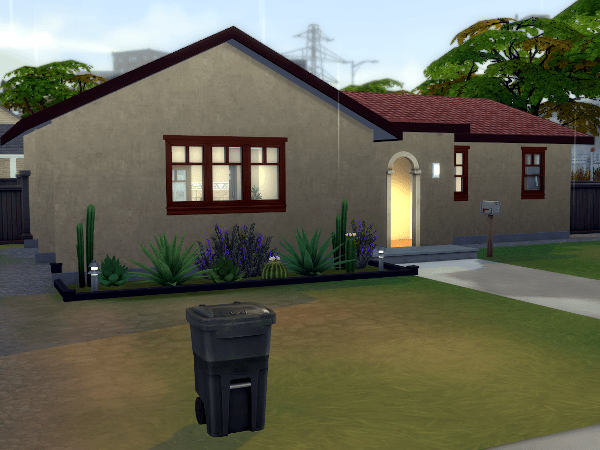 Southern california style Sim home