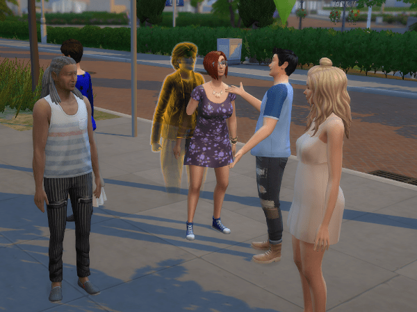 sims 4 meet and greet with famous sim