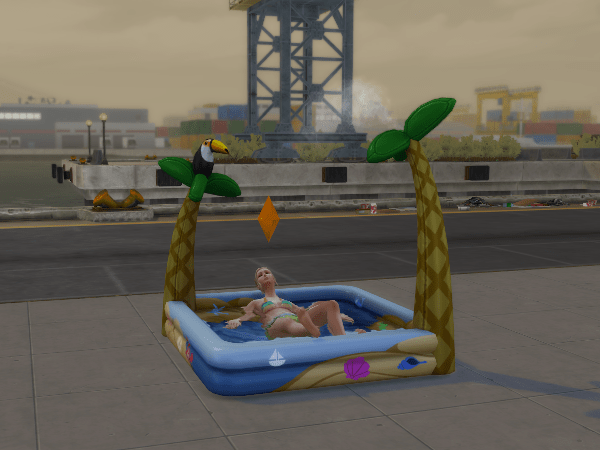 sims 4 inflatable pool