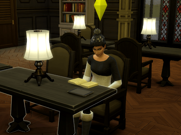 Sims 4 Windenburg library