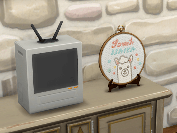 Sims 4 cross stitch Country Living