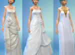 Sims 4 wedding dress options