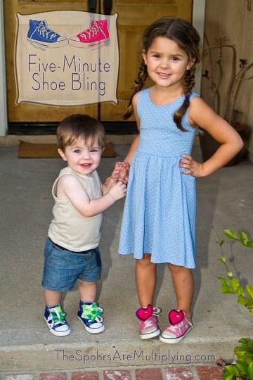 5 min shoe bling