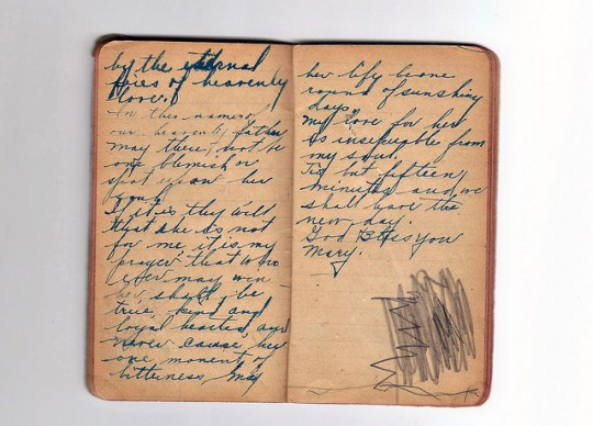 great-grandfather's journal