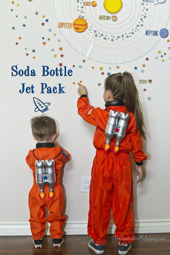 The Spohrs Are Multiplying Diy Soda Bottle Jet Packs
