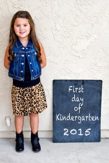 Kindergartener!