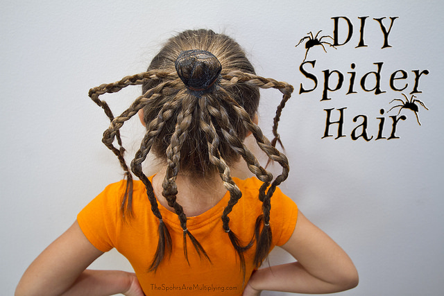 The Spohrs Are Multiplying Diy Spider Hair