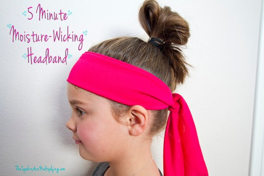 5-Minute Moisture-Wicking Headband